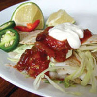 Grilled Tilapia Tacos: Main Image