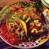 Grilled Trout Tacos with Pineapple Salsa: Main Image
