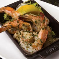 Jumbo Mexican Shrimp al Ajillo: Main Image