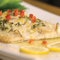 Lemon Butter Barramundi: Main Image