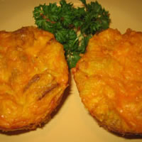 Mini Crab Quiche: Main Image