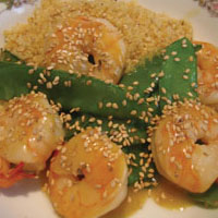 Orange Shrimp: Main Image