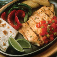 Rainbow Trout Fajitas: Main Image