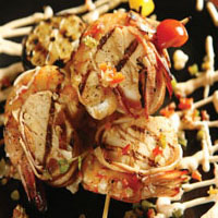 Smoked Bacon Wrapped Shrimp and Scallops: Main Image