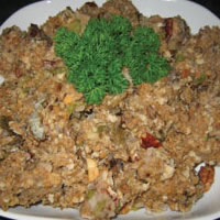 Smoked Oyster & Pecan Stuffing: Main Image