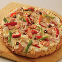 Smoked Salmon Pizza: Main Image