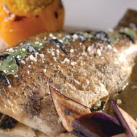Whole Roasted Barramundi with Black & White Truffle: Main Image