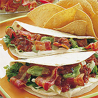 BLT Wrap: Main Image