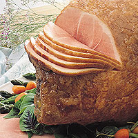 Honey-Orange Glazed Ham: Main Image