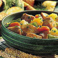 Pepper &amp;amp; Pineapple Pork Stew: Main Image