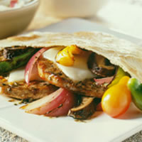 Italian Pork Pita Pockets: Main Image