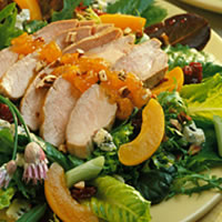 Apricot-Dijon Pork Salad: Main Image