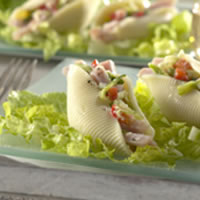 Canadian Bacon-Stuffed Shell Salad: Main Image