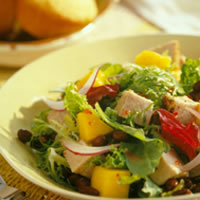Caribbean Pork and Mango Salad: Main Image