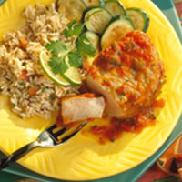 Easy Mexicali Pork Chops: Main Image