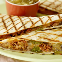 Fast-off-the-Grill Chorizo Quesadillas: Main Image
