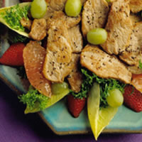 Fruited Pork Tenderloin Salad: Main Image