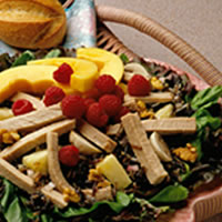 Fruited Pork and Wild Rice Salad: Main Image