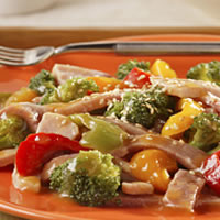 Ginger-Sesame Stir-Fry with Vegetables: Main Image