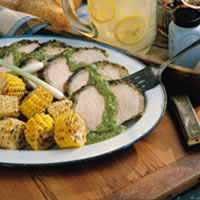 Grilled Chimichurri Pork Roast: Main Image
