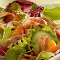 Ham Salad with Hot Peanut Dressing: Main Image