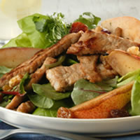Hot Pork and Pear Salad: Main Image