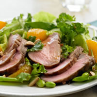 Mandarin Pork Salad: Main Image