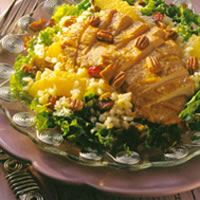 Pork, Brown Rice, Cherry, and Pecan Salad: Main Image
