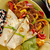 Quick Pork Fajitas: Main Image