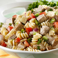 Rotini Pork Salad with Fresh Basil: Main Image