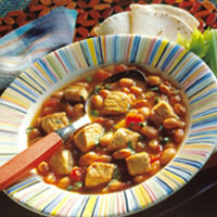 Southwestern Pork and Bean Soup: Main Image