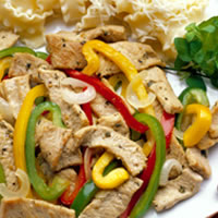 Southwestern Pork and Pepper Stir-Fry: Main Image