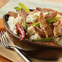 Stir-Fried Pork in Garlic Sauce: Main Image