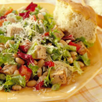 Tuscan Pork and Bean Salad: Main Image