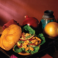 Chinese Chicken Salad Sandwich: Main Image