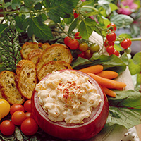 Creamy Onion Dip: Main Image