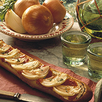 Crusty Onion Bruschetta: Main Image