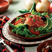 Laredo Salad with Cowboy Marinated Onions: Main Image