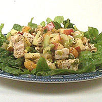 Chicken-Apricot Salad: Main Image