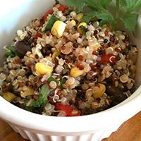 Fiesta Quinoa Salad: Main Image