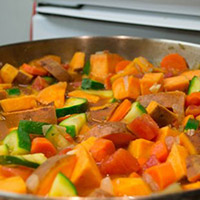 "Sweet Potato Peanut Stew (or ""Mafe"" in West Africa): Main Image"