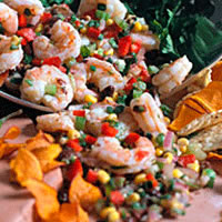 On the Border Shrimp Salad: Main Image