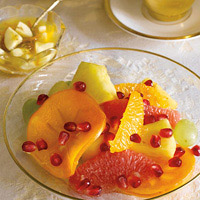 Pomegranate Autumn Fruit Salad: Main Image