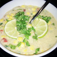 Creamy, Healthy Corn and Quinoa Chowder: Main Image