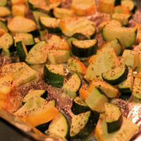 Roasted Summer Squash: Main Image