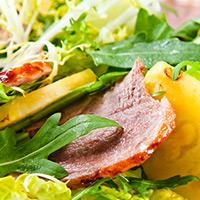 Polynesian Lamb Salad: Main Image
