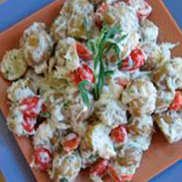 Potato & Crabmeat Salad: Main Image