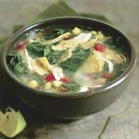 Mushroom Consomm� with Sake: Main Image