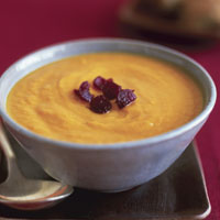 Sweet Potato-Carrot Soup: Main Image