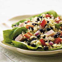 Black Bean, Couscous, and Pepper Salad: Main Image